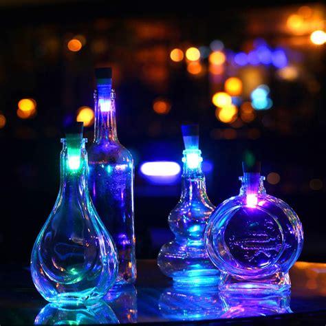 nachttisch usb 1pcs kork geformte led wein flaschen licht usb nachladbare