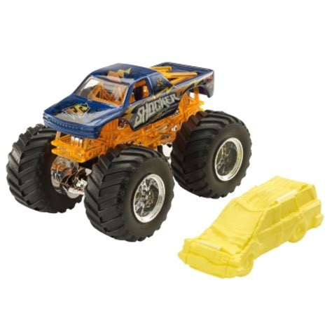 Buy Wheels Monster Jam Shocker Truck Vehicles Play