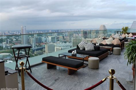 Top Bars Singapore by Ku D 201 Ta Spectacular Rooftop Restaurant Bar Club