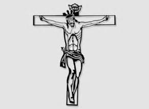 imagenes de jesus crucificado para colorear silueta en forja cristo crucificado figura de forja