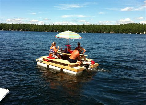 picnic table pontoon picnic table pontoon boat modern coffee tables and