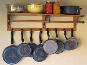 Kitchen Pot Rack Ideas by Redirecting