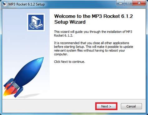 mp3 rocket free download windows 8 mp3 rocket basic software download for windows 7 8 10