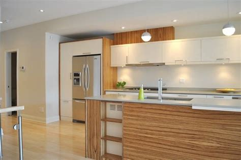 Zebrano Kitchen Cabinets by 20 Enlightening White And Wood Spaces