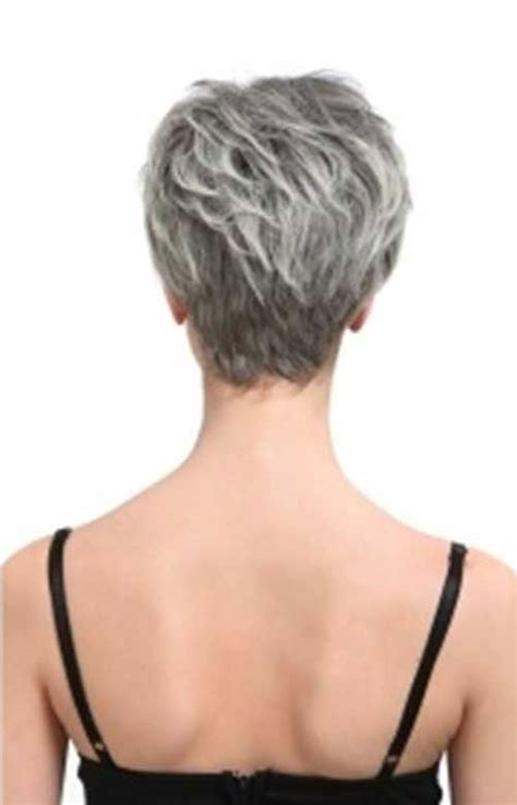 pixie haircuts for women over 50 back view back view of short hairstyles for grey hair 2015 http