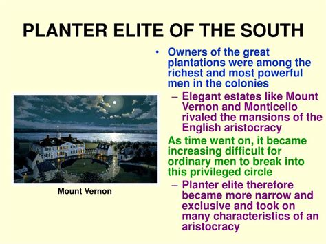 What Did Most Rich Southern Planters Do With Their Wealth by Ppt The Middle Colonies Powerpoint Presentation Id 353645