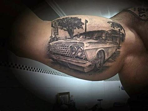 chevy tattoos designs 60 chevy tattoos for cool chevrolet design ideas