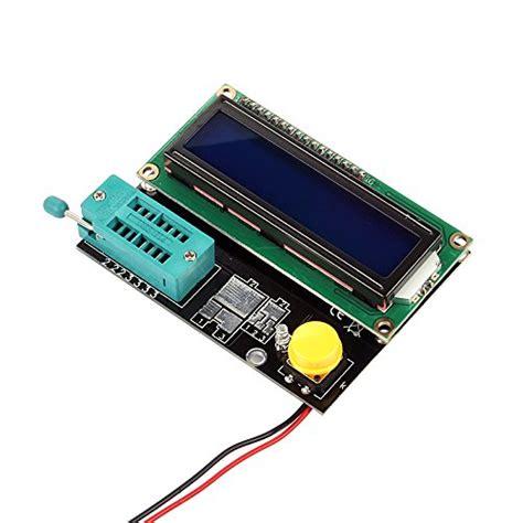 transistor tester capacitor esr inductance resistor lcr meter sainsmart digital transistor tester capacitor esr inductance resistor lcr meter npn pnp