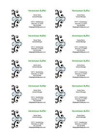 ms word business card templates free ms word business card template template design