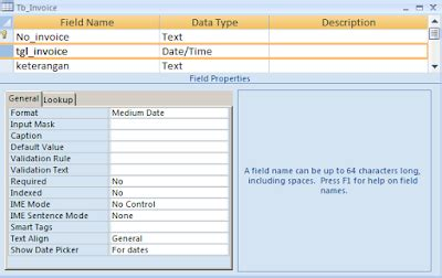 cara membuat no invoice otomatis cara membuat no otomatis pada form di ms access belajar