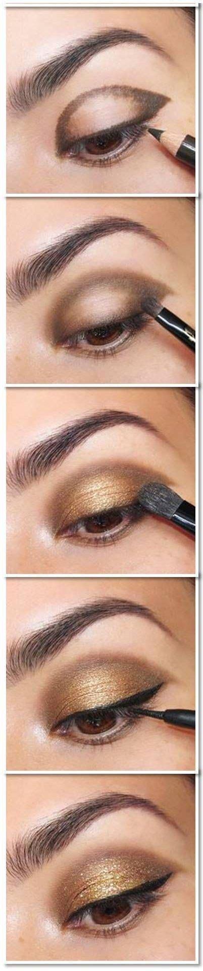 natural eye makeup tutorial mac 10 gold smoky eye tutorials for fall eyeshadow tutorials