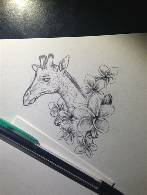 giraffe tattoo design giraffe design 2 illustrations