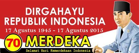 desain tema indonesia contoh desain spanduk hut kemerdekaan indonesia ke 70
