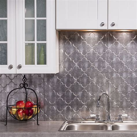 wall panels for kitchen backsplash this 18 sq ft kit includes six 6 18 x 24 inch backsplash panels four 4 4 ft j trim