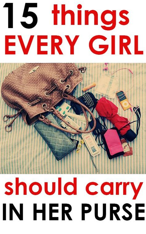 12 Things Every Should In Purse by 25 Best Ideas About Purse Essentials On