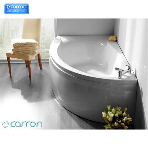 Offset Corner Bath Shower Screen carron omega 1700 x 1000 corner offset bath uk bathrooms