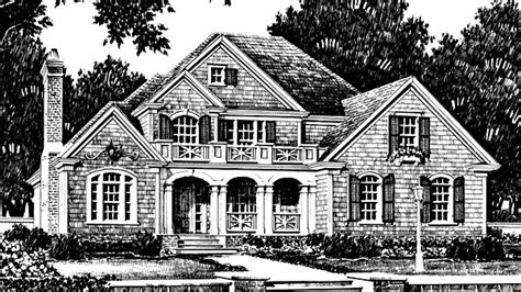 Southern Living House Plans Craftsman Floor Plan With Large Porch Could Make Look Like Craftsman With Cedar Posts And Shake And Take