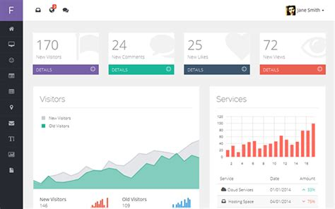 bootstrap themes spacelab 40 best bootstrap admin templates 30 designers