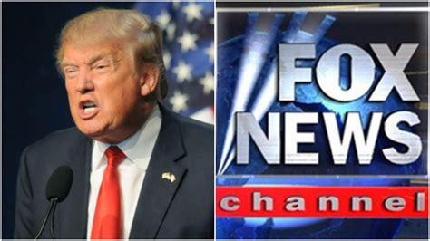 Fox News No At His Inauguration Trump S Fox And Grapes