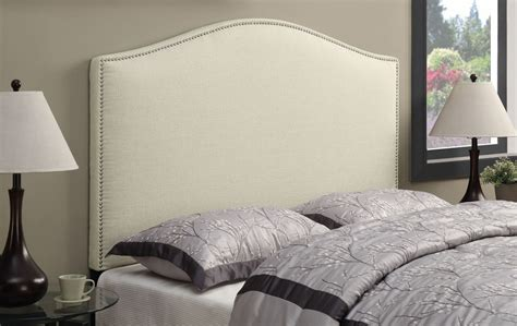 queen nailhead headboard beige full queen nailhead upholstered headboard ds d016