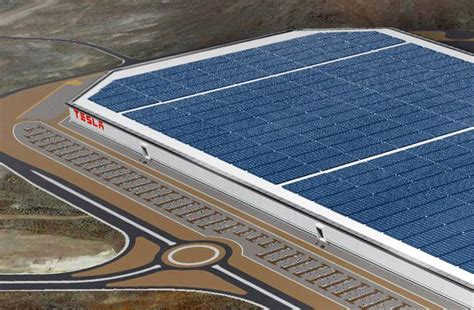 tesla s gigafactory will produce as much renewable energy