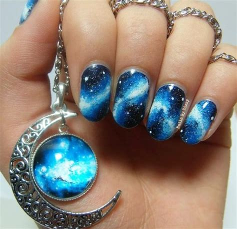 pedicure colors to the stars 48 stunning galaxy nail designs video tutorial