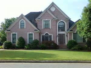 exterior house colors with brick brown brick homes white trim home design ideas