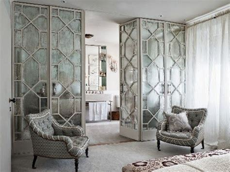 mirrored room divider cabinets design and closet on