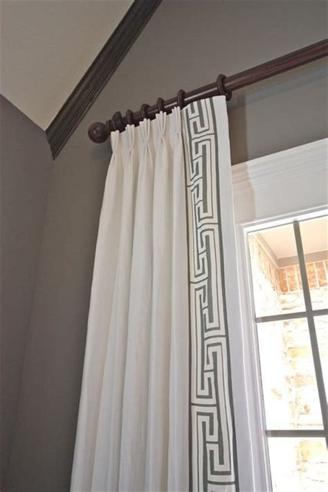 decorative trim for curtains 1000 images about greek key decor on pinterest