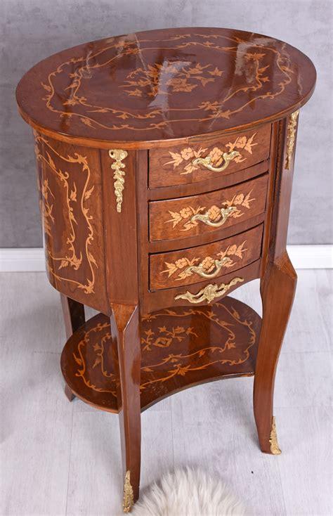 Table De Nuit Baroque by Console De Nuit Baroque Commode Ovale Table Chevet Ancien