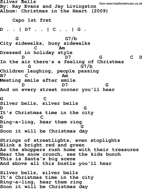 printable lyrics for silver bells words to silver bells christmas song my blog