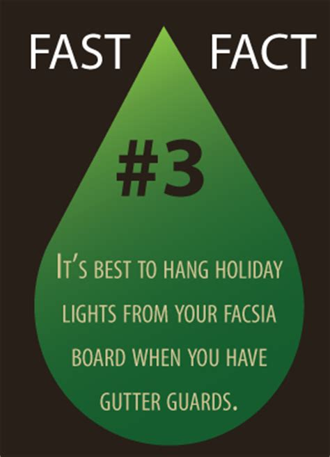 where do you hang christmas lights gutter damages