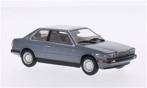 maserati metallic maserati biturbo metallic gris whitebox coches miniaturas