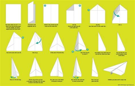 How To Make A Paper Airplane Turn Right - how to make paper airplanes step by step images
