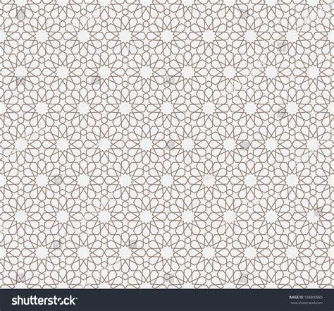 background pattern islamic background with seamless pattern in islamic style stock