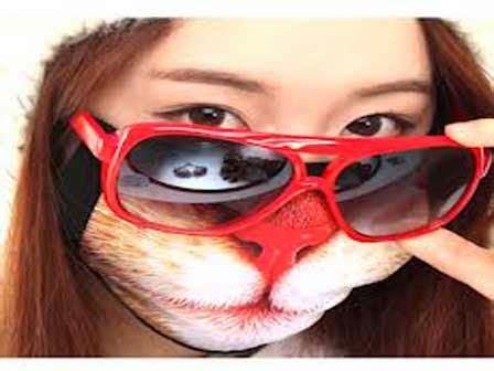 Masker Unik masker mulut yang unik aneh dan lucu jelas beda