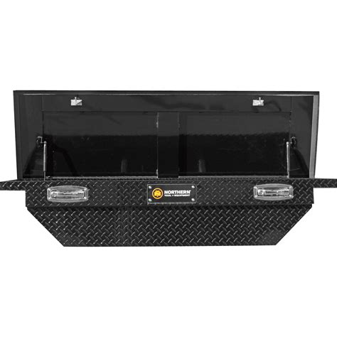 low profile truck tool boxes northern low profile aluminum crossover truck box