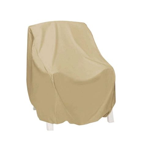High Back Patio Chair Covers Hearth Garden Polyester Adirondack X Large Patio Chair Cover With Pvc Coating Sf40224 The