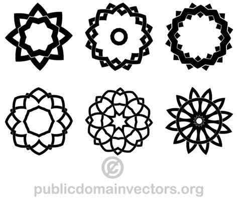 decorative geometric design decorative geometric design elements shapes download