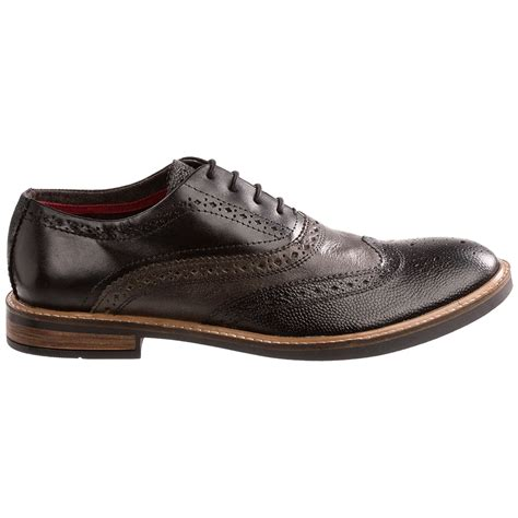 wingtip shoes ben sherman brent wingtip oxford shoes for save 56