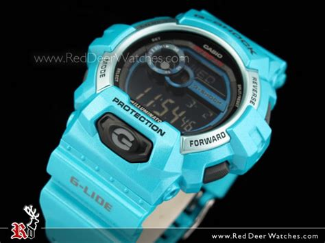 Gshock W01s Black L Blue buy casio g shock g lide 200m green blue gls 8900 2