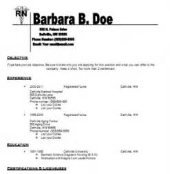 resume template for nursing nursing resume templates free resume templates for