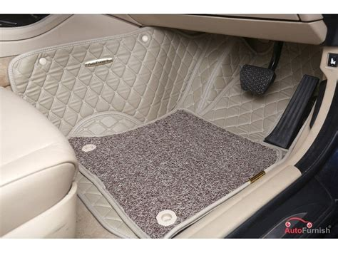 Karpet Nissan Terrano 7d luxury custom fitted car mats for nissan terrano beige