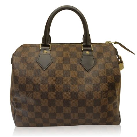 Louis Vuitton Speedy 40391 louis vuitton speedy 25 damier ebene bag in box
