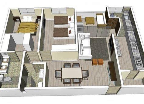 planta baixa 3d plantas de casas 3 quartos arquitetura moderna na