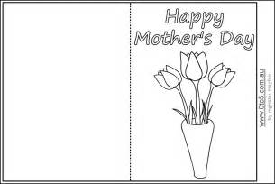 mothers day cards templates for children