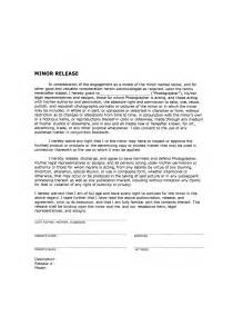 photography release form free printable documents
