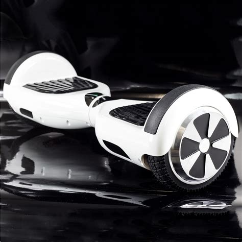 Mini Segway 10 Inch White Graffity electric hoverboard self balancing scooter classic