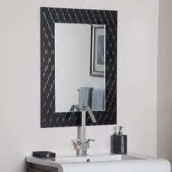 Bathroom mirror design with contemporary bathroom mirrors designs also