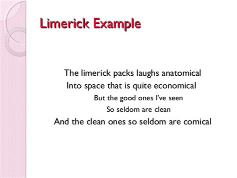 limerick poems about sports pictures to pin on pinterest
